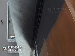 Мойка фасада альпинистами после пожара, Прима Service
